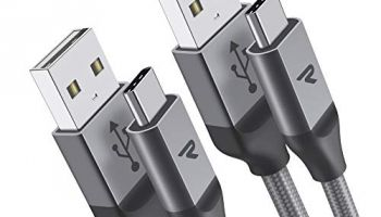Rampow Cable USB Tipo C [2M/2 Unidades]